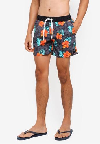 OVS grey Maui Swim Shorts FDE43AAE15AEBEGS_1