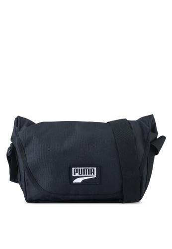 PUMA black Puma Deck Mini Messenger Bag AA030ACAEC87A5GS_1
