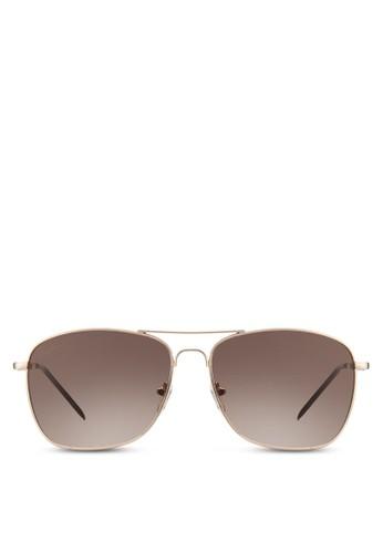 Carter 方框esprit retailUV 太陽眼鏡, 飾品配件, 長框