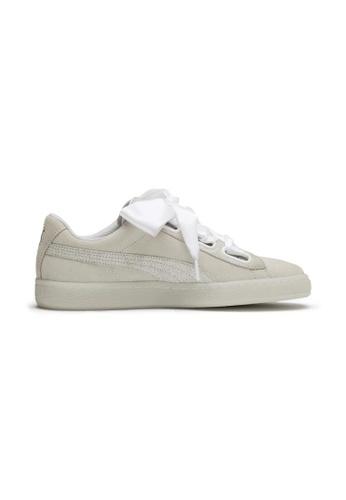 watch b08ee 31b77 PUMA Suede Heart Arctica Women's Sneakers 367029
