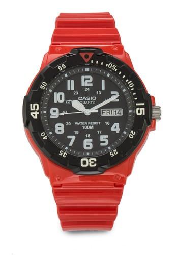 MRW-200Hesprit門市地址C-4BVDF 運動風男士手錶, 錶類, 飾品配件