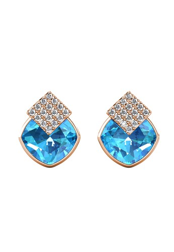 Her Jewellery yellow and blue Diamond Lucid Earring Blue RG - Anting Crystal Swarovski by Her Jewellery 9EEF0AC05331DCGS_1
