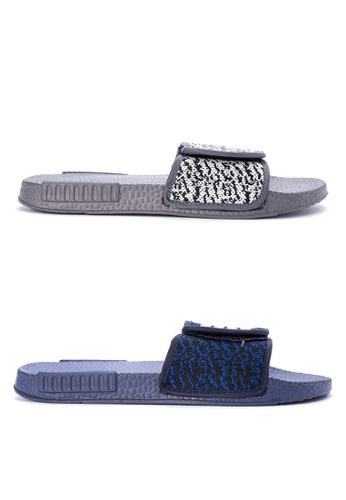 Reva grey and multi Gianis Sandals & Flip Flops RE354SH0KFK2PH_1