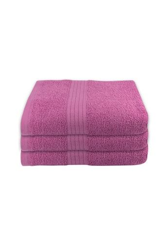 Milton Home SET OF 3 Milton Home Juro -SBT 100% Cotton Sports Bath Towel 60x110cm/ 270g. 5C531HL3F43517GS_1