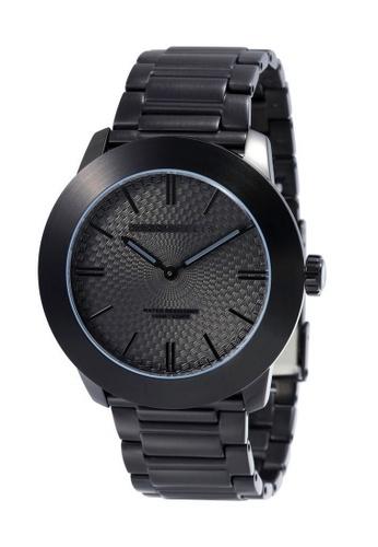 Perry Ellis black Perry Ellis Slim Line Men 46mm Quartz Stainless Steel Watch 03009-02 DEFA8AC18BB912GS_1