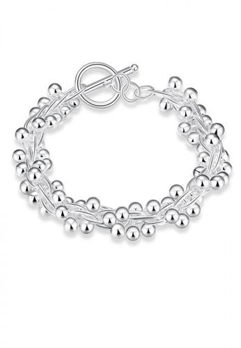 Glamorousky silver Pop Sphere Grape Bracelet AC20CAC3B7C431GS_1