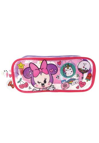 Disney Minnie Disney Minnie Too Cute Transparent Square Pencil Bag Set 06159KCB65F865GS_1