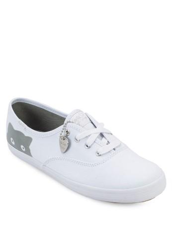 Tayloesprit 香港r Swift Champion 貓咪繫帶布鞋, 女鞋, 鞋