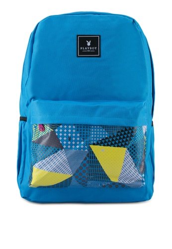 Playboy blue Playboy Casual Backpack PL371AC0SJYJMY_1