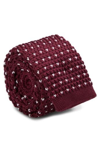心形針織領帶, 飾品配件, esprit 品質飾品配件