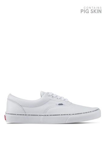 VANS white Authentic Year of The Dog/Sankuanz Sneakers VA142SH0SWRAMY_1