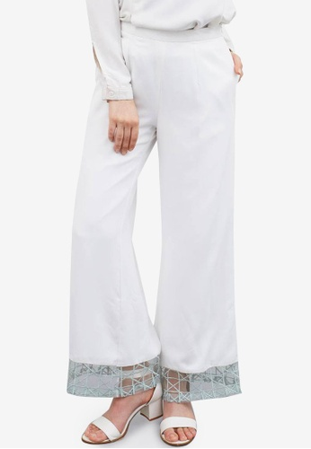 Berrybenka white Freeda Pants 2A266AA27FF270GS_1