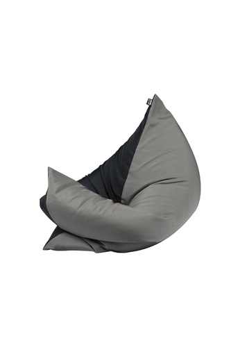 doob black and grey and multi PLOPSTA' - versatile spill-proof doob bean bag (Chilled Ash) BAA9FHLB6CCA78GS_1