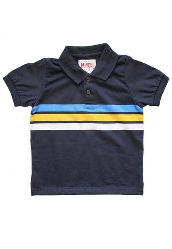 Marcus multi Lenox Striped Polo Shirt 05DFFKACAA3741GS_1
