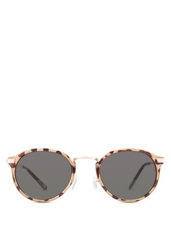 Casper 圓框太陽眼鏡, 飾品配件,zalora 手錶 評價 飾品配件