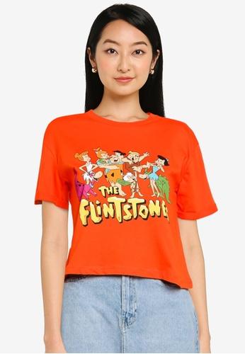 KOTON red Flintstones T-Shirt DFF98AA6076B4AGS_1