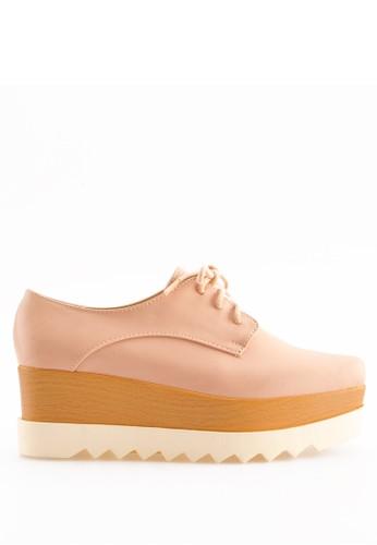 AMANTE pink AMANTE Celine Platform Shoes Nude 8F862SHA3CA5D6GS_1