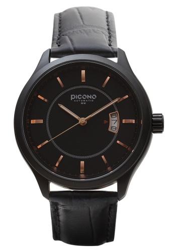 PICONO Watches black Monarch Minimalist Dial Fashion Watch 7DD42ACC298474GS_1