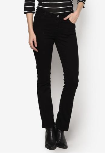 Dorothy Perkins black Short - Black Bootcut Jeans DO816AA66FCJMY_1