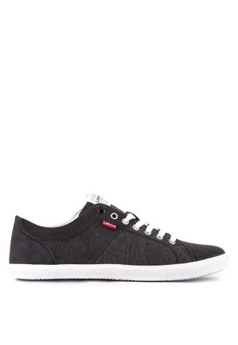 Levi's black Woods Sneakers LE892SH21PTAPH_1