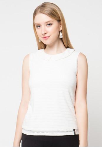 X8 white Audrey T-Shirt X8323AA00HFNID_1