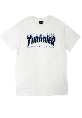 Thrasher multi Thrasher Flame Logo Tee 38589AAB6FFBCEGS_1