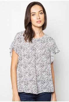 Saniah Short Sleeved Blouse