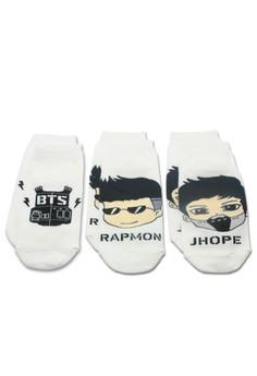 BTS Socks 3 Pieces Set