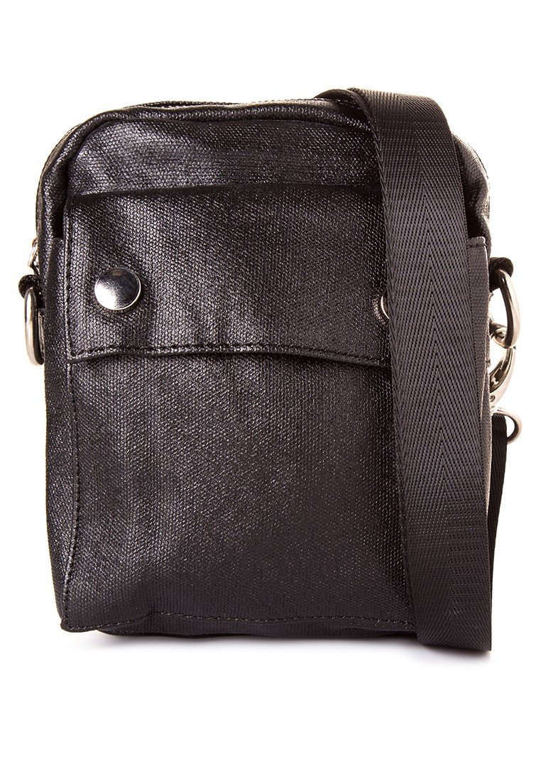 Sling Bag in Coated Twill