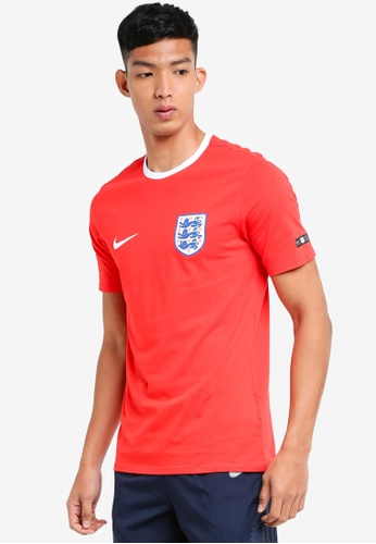 Nike white and red Men's Nike England T-Shirt CF640AA7951760GS_1