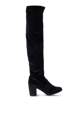 ZALORA black Over The Knee Boots 0BD24ZZ4C27514GS_1