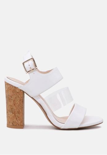 London Rag 白色 制作于London Rag 透明带凉鞋 AB944SHAADBA0CGS_1