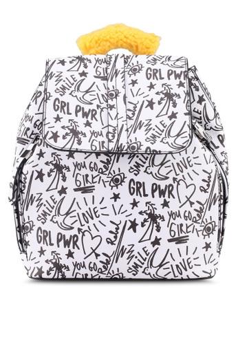 Call It Spring white Eloilian Handbag 574F3ACD8DFAE9GS_1