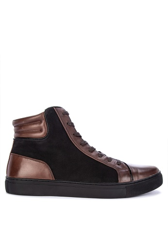 Kenneth Cole black and brown Design Formal Shoes 6F0D8SH3FBDDECGS_1