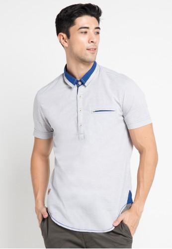 Lois Jeans grey Short Sleeve Shirt LO391AA0V2JSID_1