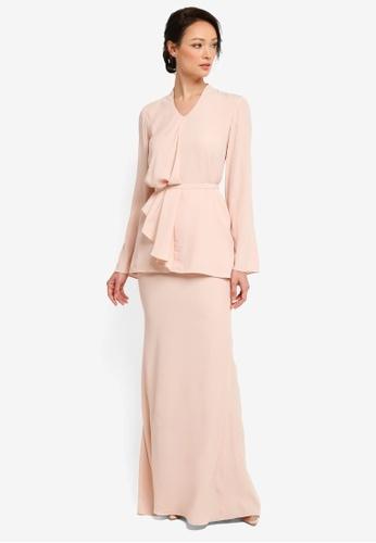 NH by NURITA HARITH pink Renee Kurung Modern 81598AA22D0D5AGS_1