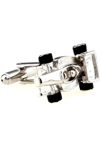 The Little Link Cufflinks silver F1 Racer (Silver) cufflinks TH089AC0G4X9SG_1