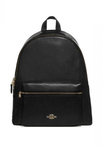 Coach black COACH Charlie Backpack C784CAC41B20D0GS_1