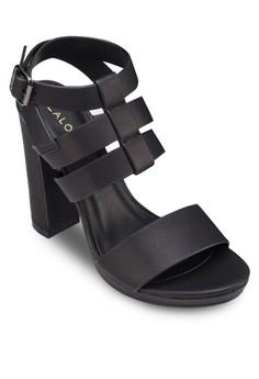 Strappy Platform Heel Sandals