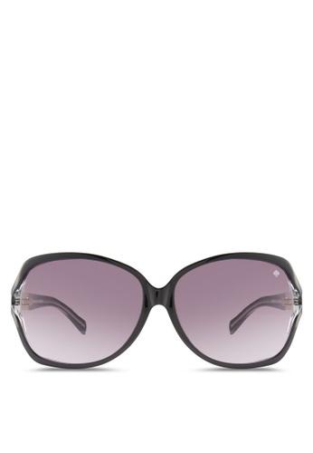 Kate Spade black Iconic Metal Spade Sunglasses KA433GL55HWYMY_1
