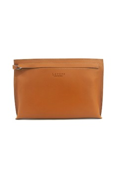 Lotuff Natural Leather Clutch Bag
