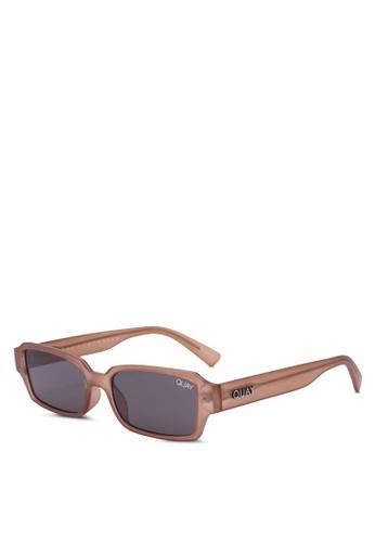 Quay Australia brown STRANGE LOVE Sunglasses AB004GL4B5693DGS_1