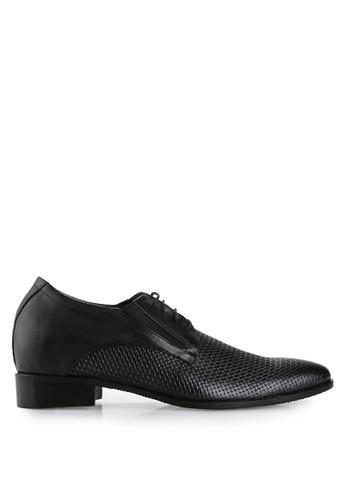 Keeve black Keeve Shoes Peninggi Badan Formal 034- Hitam 94B64SHC08F35FGS_1