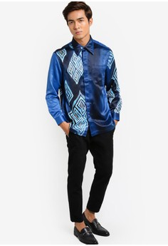 Buy Batik Shirts For Men Online  ZALORA Malaysia  Brunei