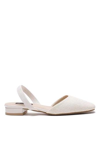 Twenty Eight Shoes Kandy Woven Sling Back Sandal 310-2 76A41SHA07A7B1GS_1