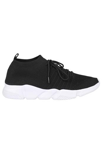 Tomaz black Tomaz 664 Running Sneakers (Black) 14F2FSHB1A8F71GS_1
