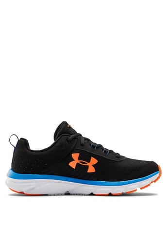 Under Armour 黑色 UA Charged Assert 8 Running Shoes 5FC4ASHE714328GS_1