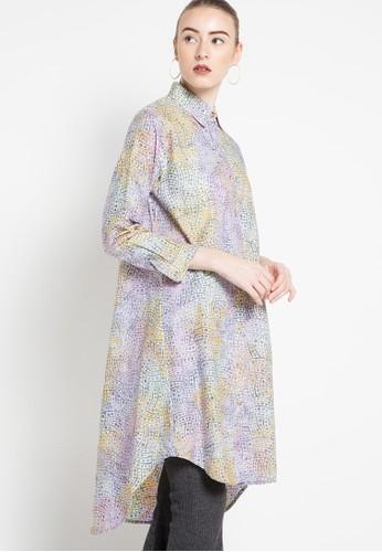 DEBRA LUNN purple Dot Wave A Longsleeves Shirt DE879AA34TYVID_1