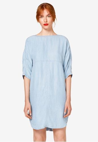 ESPRIT blue Denim Midi Dress 67DDBAA1770CDFGS_1