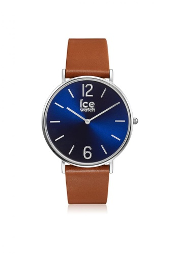 Ice-Watch blue and brown CITY tanner - Caramel Blue IC770AC68PGTHK_1